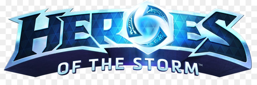 Logotyp på spelet heroes of the Storm